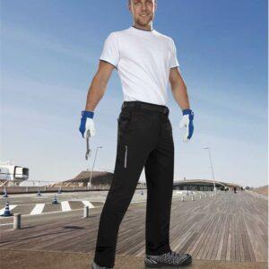 HILL páns. kalhoty trek, černé