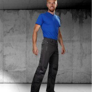 Soft. kalhoty PHANTOM pánské, černé