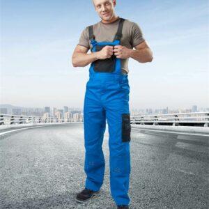 Kalhoty lacl 4TECH 03 modro-černé